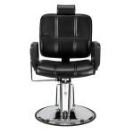 Reclining Haircut Lady Chair Hairdressing Chair Black