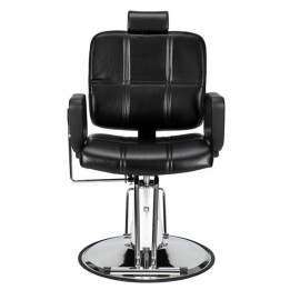 Reclining Haircut Lady Chair Hairdressing Chair Black
