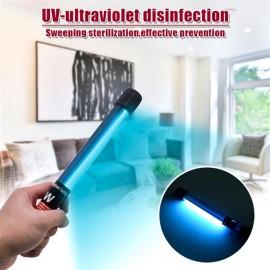 110V Portable 11W Handheld Ultraviolet UV Disinfection Lamp Power Cord Length 1.1M US Regulations Black