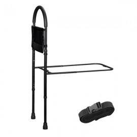 Aluminum Alloy Frame Adjustable Household Elderly Stand Up Frame Black