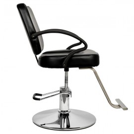 HC106 Woman Barber Chair Hairdressing Chair Black