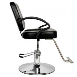 HC106 Woman Barber Chair Hairdressing Chair Black