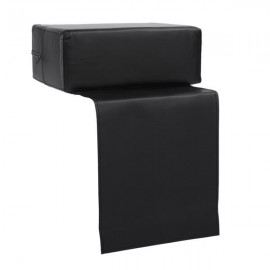 Children Barber Chair Heightening Booster Seat Cushion Salon Equipment Black