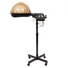 [US-W]Stand Professional Hair Treatment Steamer Machine Black