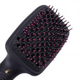 110V 2 in 1 Multifunctional Anion Hair Dryer Brush Comb Styler Hairdressing Tool US Plug