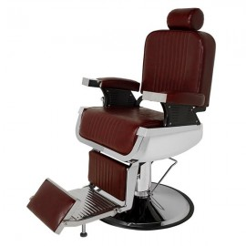 All Purpose Recline Hydraulic Barber Chair Heavy Duty Salon Spa Beauty Equipment Burgundy