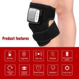Multi-functional Knee Massager Kneepad Rheumatism Knee Massage Therapy Tool Vibration Heat