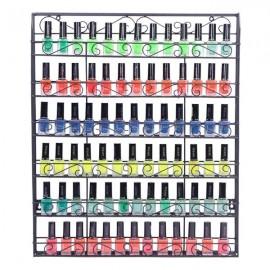 [US-W]6 Tier Metal Nail Polish Display Organizer Wall Rack Holder