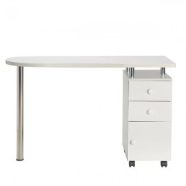 Manicure Workstation Profession Nail Salon Technician Desk Hand-care Table White