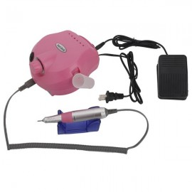 [US-W]Professional 30000RPM Nails Care Electric Polisher Nail Art Drill US Standard Pink