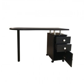 Manicure Nail Table with Drawer