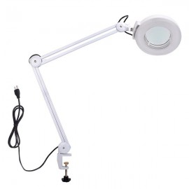 15W 110V Laboratory Beauty Magnifying Lamp 5730 Lamp Beads 30LED 1500LM Magnification 5D (Diopter) (2.2 Times) White